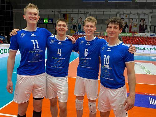 Vier Spieler verlassen die Volley YoungStars