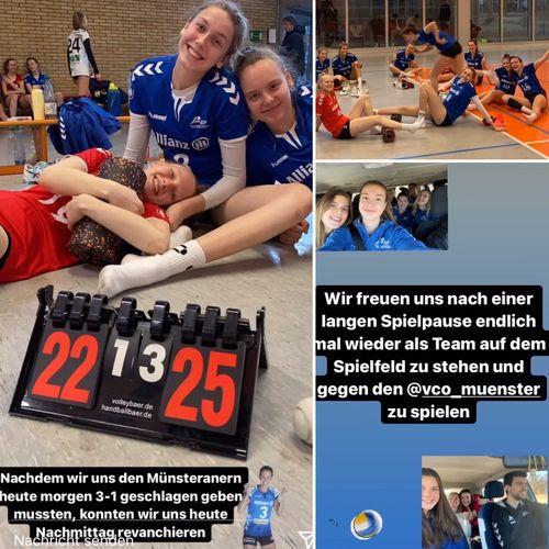 Erfolgreiche Testspiele gegen VCO Münster