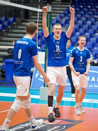 Lennart Heckel blockt sich zum MVP
